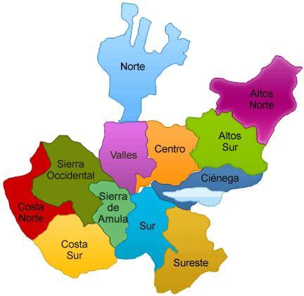 Mapa Del Estado De Jalisco El Comedor Decoración